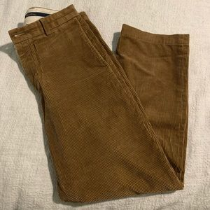 Brooks Brothers corduroys; camel color; W31/L30
